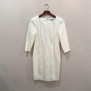 Antonio Melani white structured dress